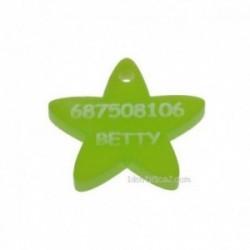 Llavero con forma de Estrella. ¿eres o conoces a una de ellas?