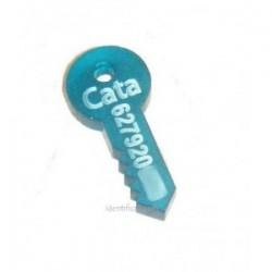 Preciosa llave de metacrilato para incluirla en tu llavero.
